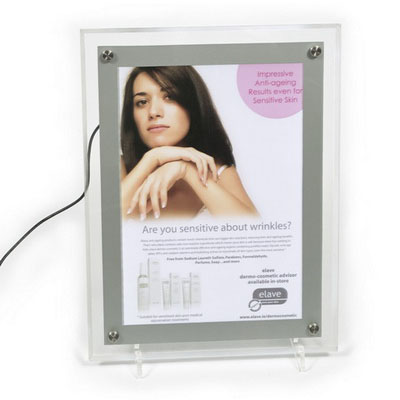 Light Box & Electric Banner Stand